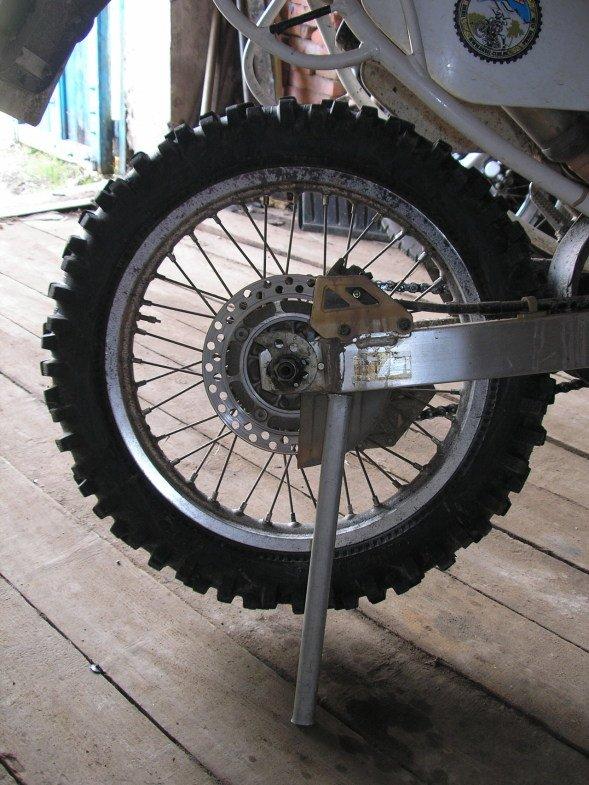 Как сделать широкие спицованные колёса на мотоцикл. / Блог им 85