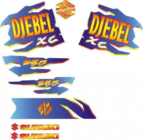 Наклейки на Джебел-250