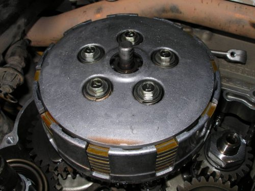 Замена дисков сцепления