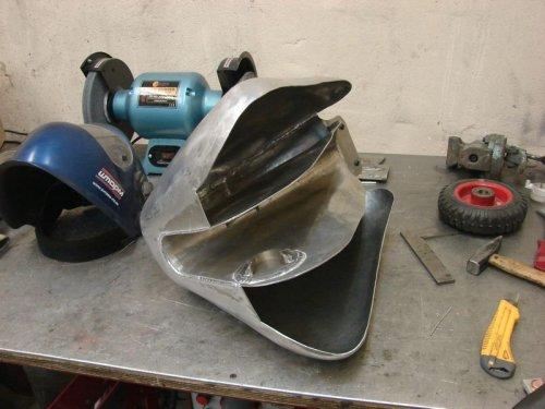 Самодельный алюминиевый бак