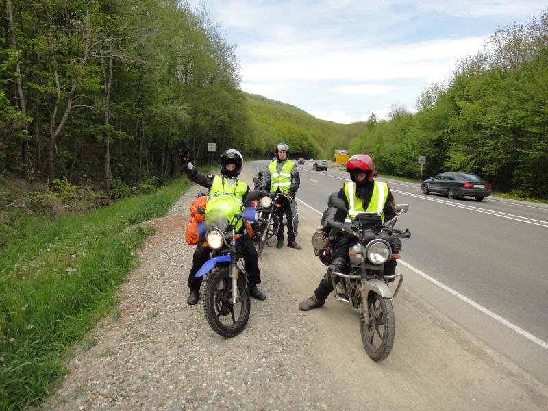 Путешествие в Абхазию на Yamaha YBR125 Post-14910-1431605348_thumb