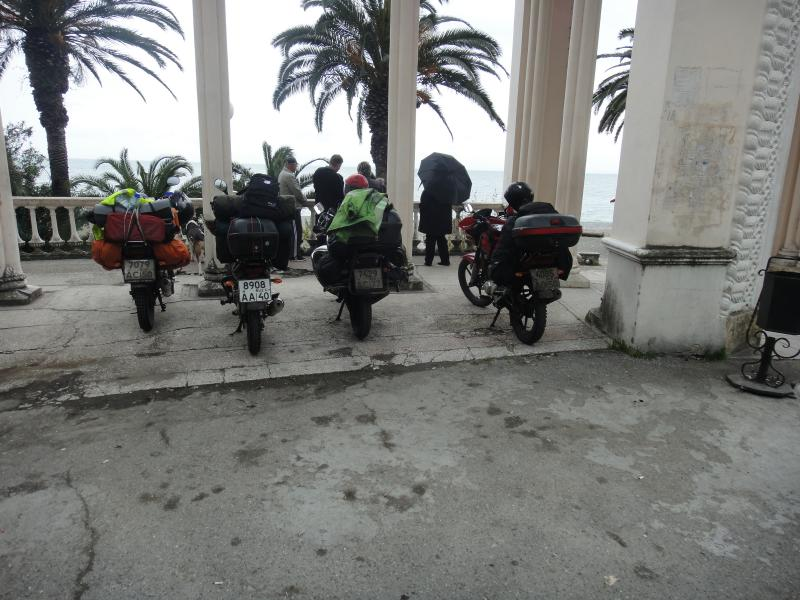 Путешествие в Абхазию на Yamaha YBR125 Post-14910-1431606090_thumb