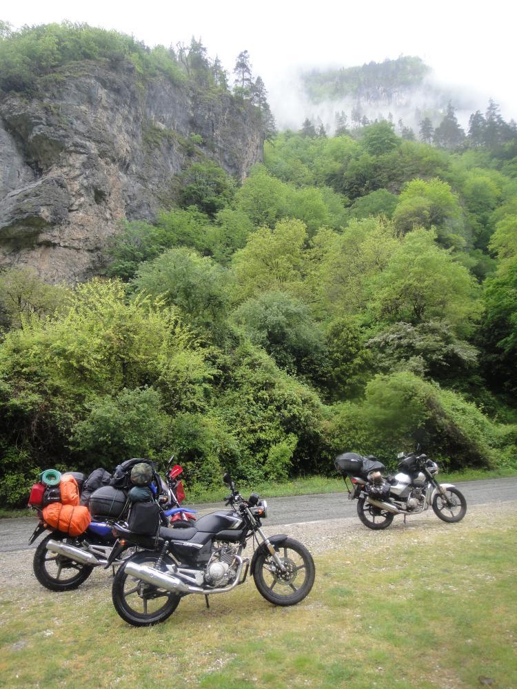 Путешествие в Абхазию на Yamaha YBR125 Post-14910-1431606527_thumb
