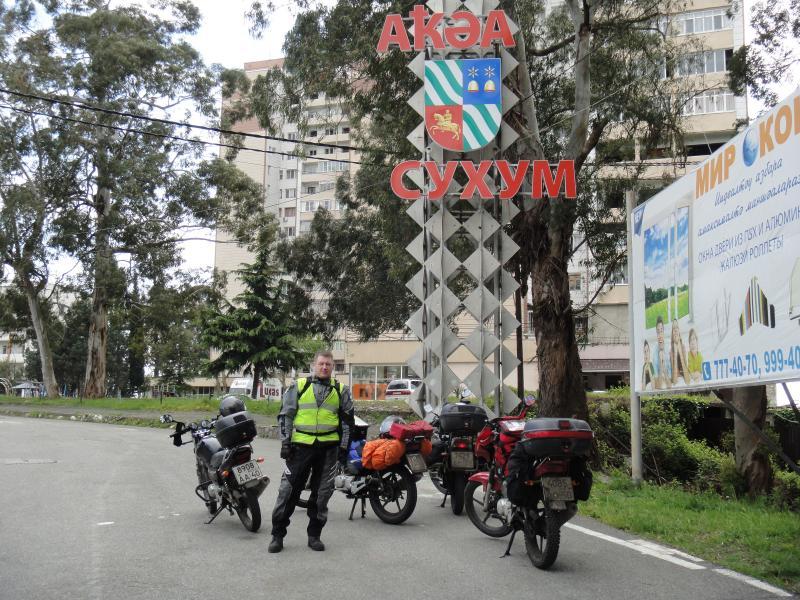 Путешествие в Абхазию на Yamaha YBR125 Post-14910-1431630064_thumb