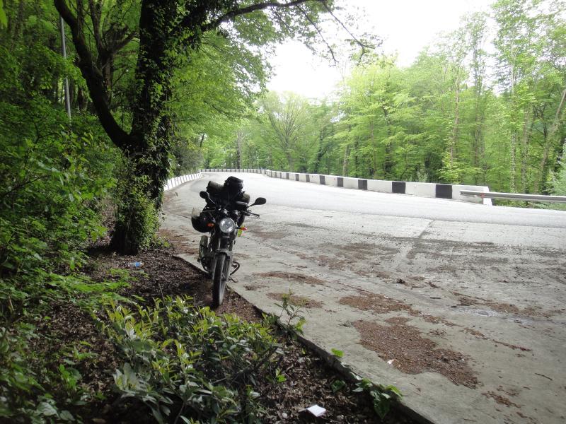 Путешествие в Абхазию на Yamaha YBR125 Post-14910-1431680418_thumb