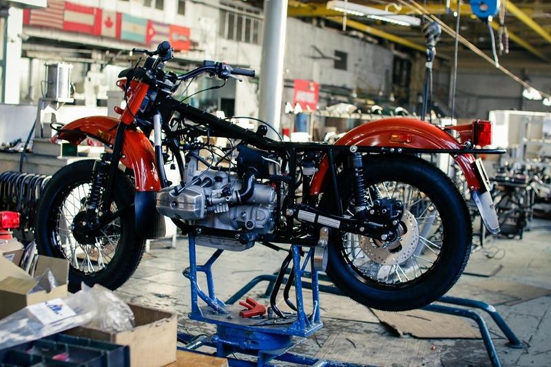 КБМТС – это кастомайзинг мотоциклов УРАЛ