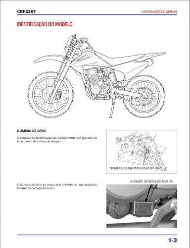 Сервисный мануал на Honda CRF-230F