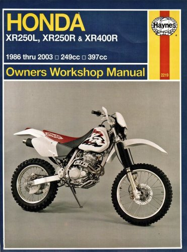Owners WorkshopManual Honda XR-250L,XR-250R&XR-400R
