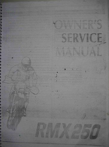 Сервис-мануал на Suzuki RMX-250