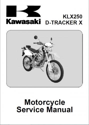 Сервис мануал Kawasaki KLX250S от 2010 года